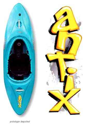 Jackson Kayak Introduces New Antix Creeking/River Running Kayak