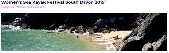 Women's Sea Kayak Festival South Devon  - Aug 17-Aug 19 (UK, England)