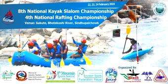 National Kayak Slalom & Rafting Championship - Feb 22-Feb 24 (Nepal)