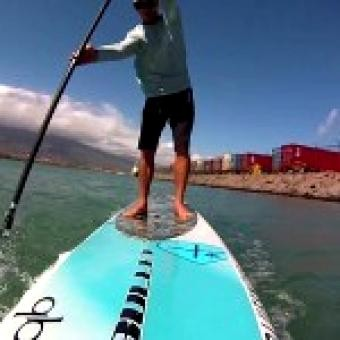 Distressed Mullet: Maui interview with Standup Paddleboard downwind instructor Jeremy Riggs