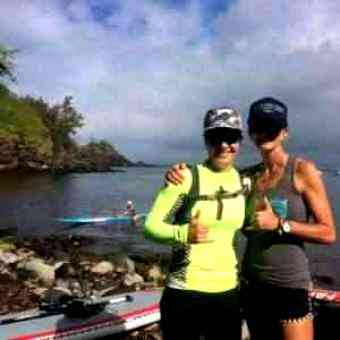 SUP Fitness: Jenn Biestman's Maui2Molokai  The Story of My First Channel Crossing