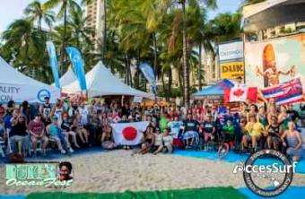 ISA: AccesSurf's 10th Annual Adaptive Surf Competition