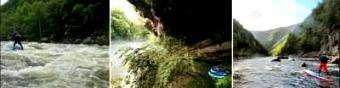 Hala: Southeast Rivers to white water paddleboard