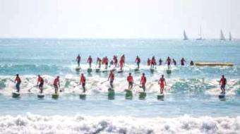 SUPracer: Pacific Paddle Games: One Week