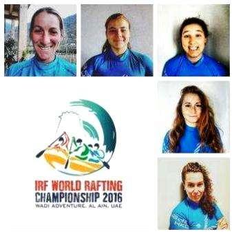International Rafting Federation: Italian women's team all set for the coming R4 World Rafting Championship