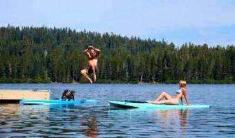Tahoe SUP: Tips for Paddling Together More