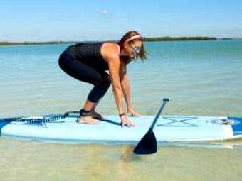 SUP Magazine: Fundamental SUP Skills- Getting to Your Feet