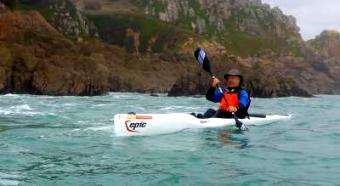 The Paddler ezine: Go Fast, Surf Waves. Surfski Courses in Jersey – The Island of the Tides