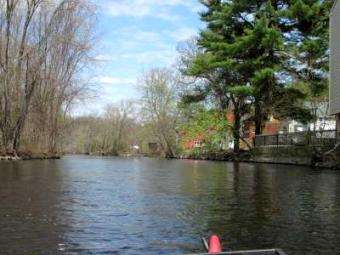 Trash Paddler: Earth day clearing trash when paddle exploring the Assabet River