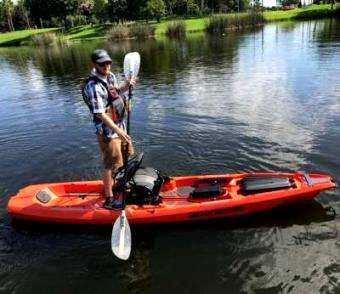 Kayak Angler Magazine: The Bonafide kayak Review after paddling it at the ICAST Water Demo Event