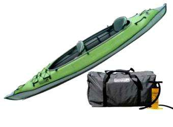 AirKayaks: Limited Edition AdvancedFrame 2 Inflatable Tandem Kayak From Advanced Elements