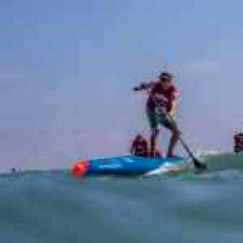 Trident Sports: Connor Wins the Pacific Paddle Games The Super Bowl of SUP