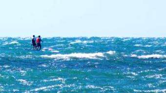 SUPracer: Michael Booth and Three of His Mates Just Paddled 226km for Charity
