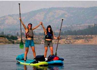 SUP Magazine: Photos: A First SUP Descent of Idaho's Spokane River