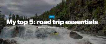 Palm Blogs: My top 5: road trip essentials when planing to do white water kayaking