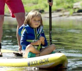 Adventure Kayak: Paddling With Kids | When Can Kids Start Stand Up Paddling?