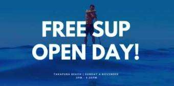 SUPSNZ: Free Open Day at Takapuna