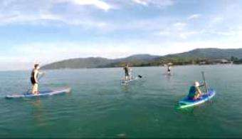 SUP World Mag: Blue Zone SUP Surf