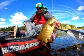 Jackson Kayak: Musky and Bass Kayak Fishing in Canada – Part 2