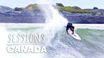 SUP Tonic: Andrew Mooney Hits the Road on Canada's East Coast in Search of Perfect Hurricane Surf - Sessions