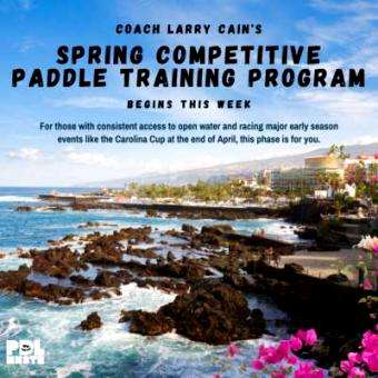 Distressed Mullet: Larry Cain's Spring Competitive Program Launches This Week on Paddle Monster