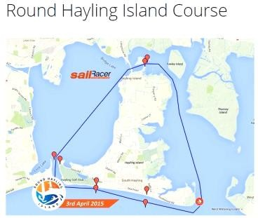 Round Hayling Island Course - Apr 3 (UK)