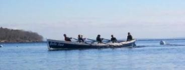 PenobscotPaddles: Rowing a Cornish Pilot Gig - National Maritime Day Belfast Maine