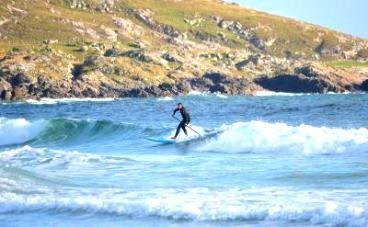 SUPboarder: Loco paddlesurfing in Scotland