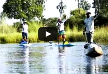 Standup Journal: Escape And Explore: An Epic Sup Journey Through  Botswana