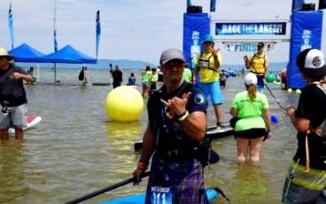 Sup Currents: Another Lights Out Race The Lake of The Sky