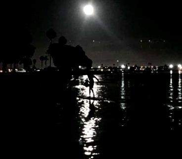 PaddleFit: A Great Crew for The Full Moon Paddle At Paddlefit