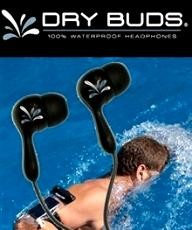 dry-case DryBUDS Waterproof Headphones