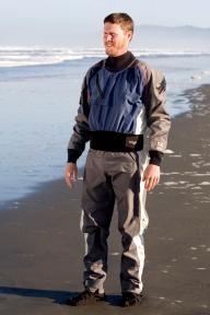 Kokatat GORE-TEX® Icon Dry Suit with Relief Zipper and Socks - Men