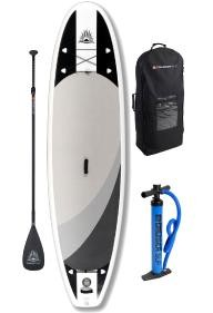 Cruiser SUP Crossover Air Double Layer Inflatable w/Wheeled Back Pack 10\