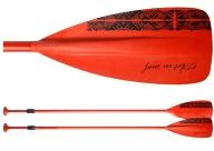 Art in Surf Red Aluminum Paddle