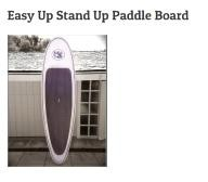 Radfish Malibu Easy Up Stand Up Paddle Board 10\