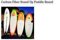 Radfish Malibu Carbon Fiber Stand Up Paddle Board 9\