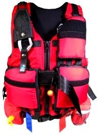 North Water Pro System Detachable Pockets Rescue PFD