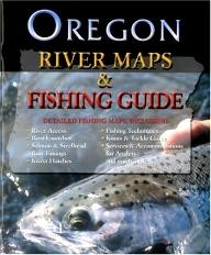 Frank-Amato-Publications Oregon River Map & Fishing Guide