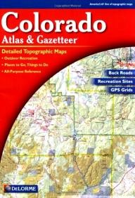 DeLorme-Publishing Colorado Atlas and Gazetteer
