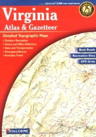 DeLorme-Publishing Virginia Atlas & Gazetteer (Virginia Atlas & Gazeteer)