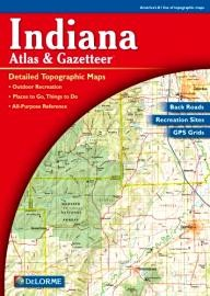 DeLorme-Publishing Indiana Atlas & Gazetteer