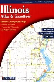 DeLorme-Publishing Illinois Atlas and Gazetteer (Fifth Edition)