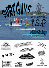 Surfguys SUP Race