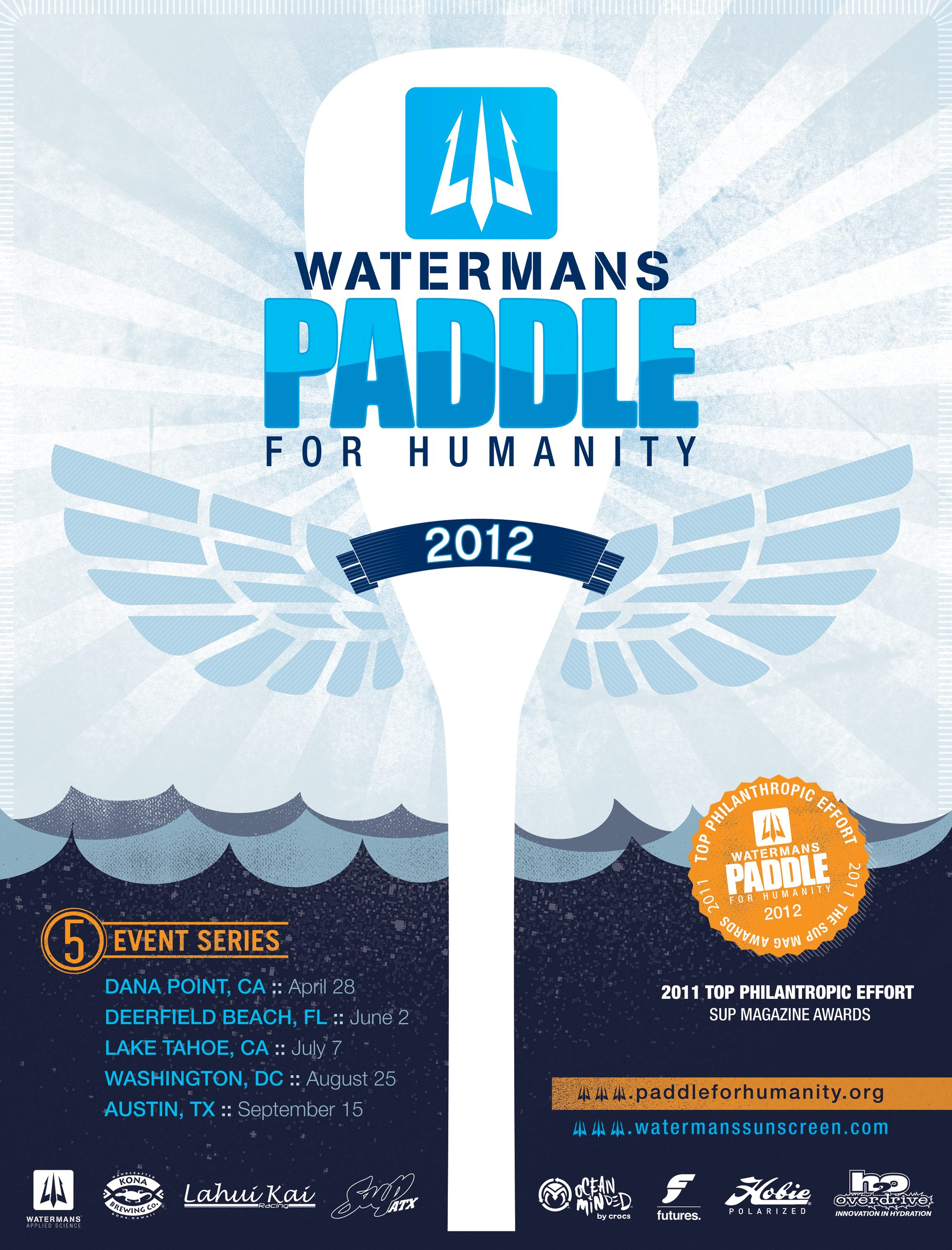 Paddle for Humanity- Washington