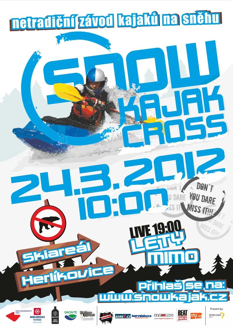 Snow kayak cross - Czec Republic