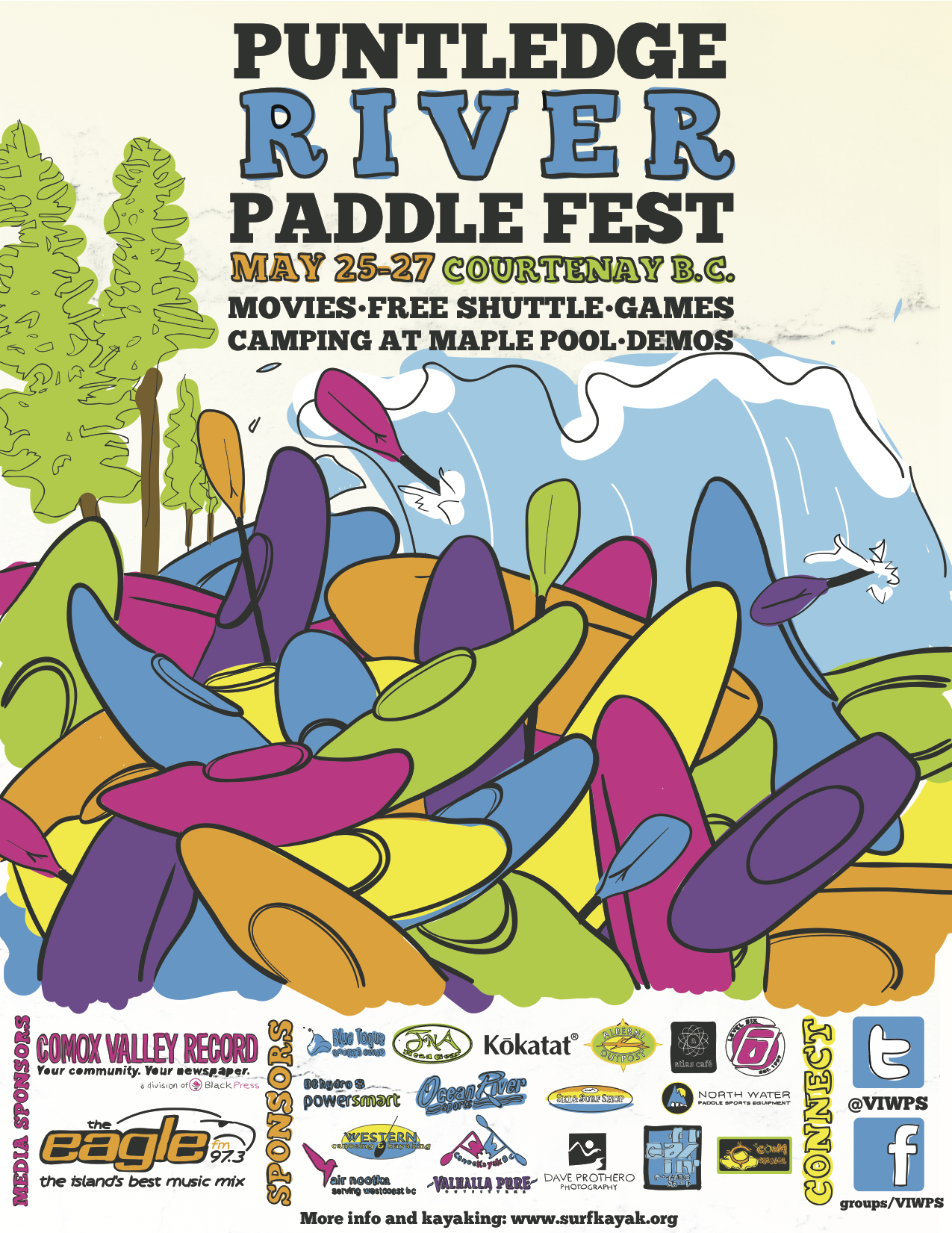 8th annual Puntledge River Paddle Festival