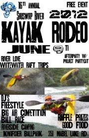 Shuswap River Kayak Rodeo