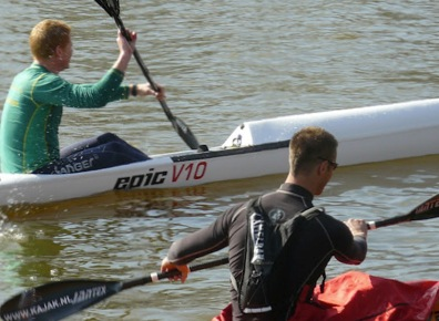 First Eastercup Canoe Marathon Tilburg-Eindhoven