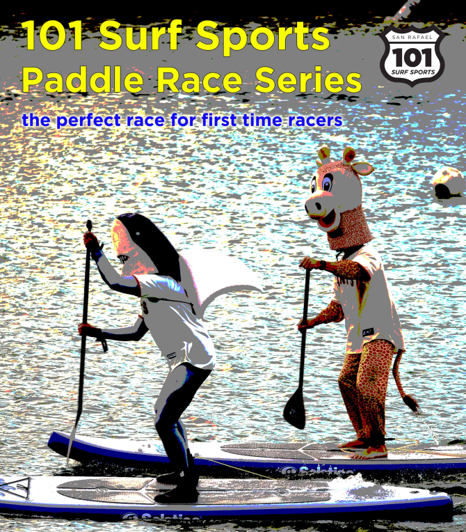 101 Surf Sports Paddle Race